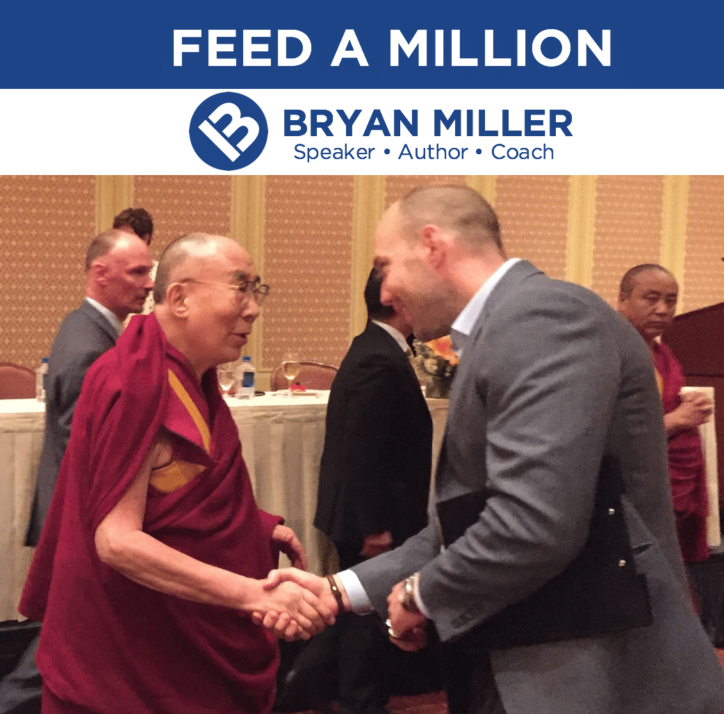 Bryan with the Dalai Lama