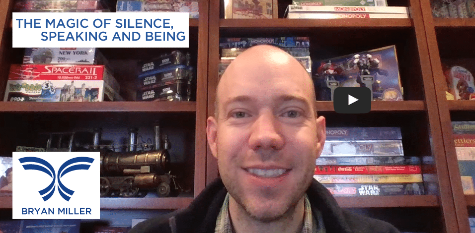 The Magic of Silence, Speaking and Being Video