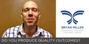 Self Help Speaker Bryan Miller Goal Setting