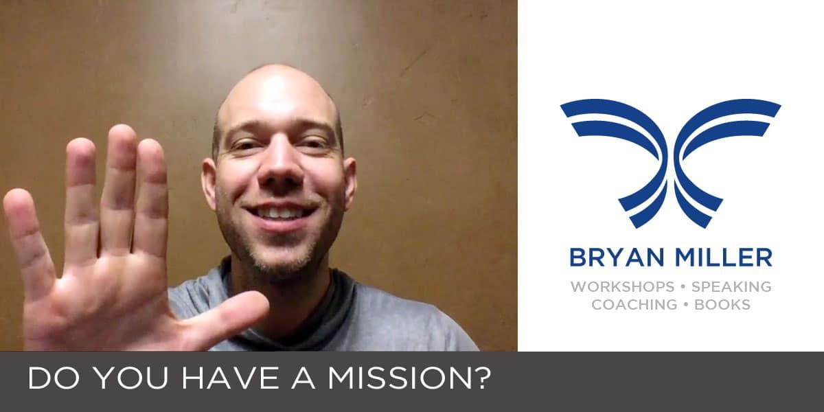 Video from Utah Leadership Speaker Bryan MIller