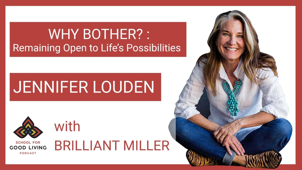 Jennifer Louden Podcast Episode