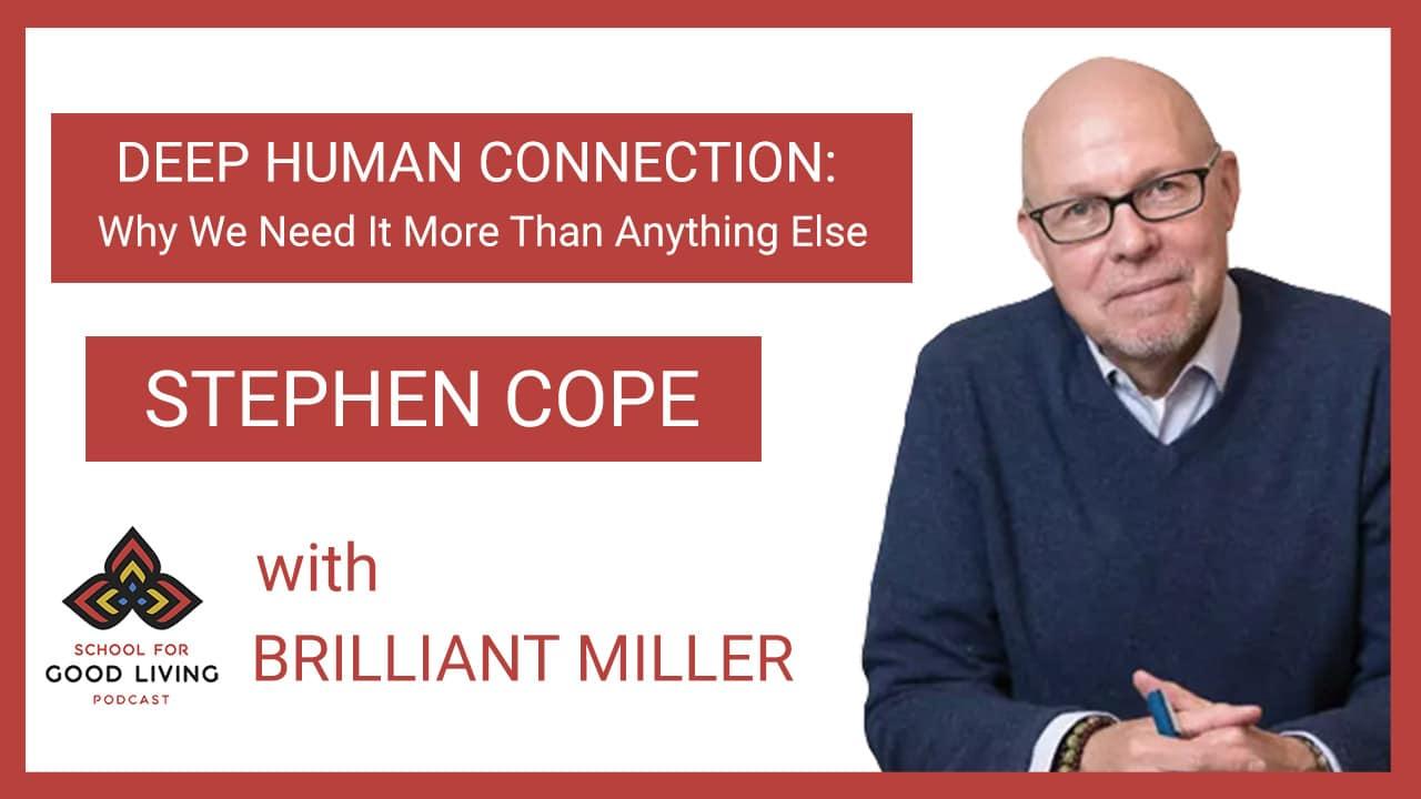 Stephen Cope, Psychotherapist